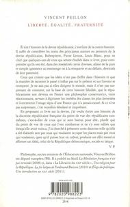 Liberté, égalité, fraternité. Sur le républicanisme français