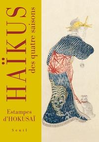 Katsushika Hokusai - Haïkus des quatre saisons - Estampes d'Hokusai.