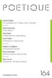 Michel Charles et Michel Jeanneret - Poétique N° 164, Novembre 201 : .
