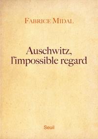 Fabrice Midal - Auschwitz, l'impossible regard.