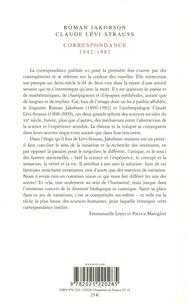 Correspondance (1942-1982)