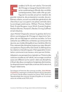 La tradition sociologique de Chicago (1892-1961) 2e édition revue et augmentée