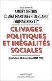Amory Gethin et Clara Martinez-Toledano - Clivages politiques et inégalités sociales - Une étude de 50 démocraties (1948-2020).