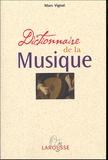 Marc Vignal - Dictionnaire de la Musique.