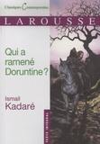 Ismail Kadaré - Qui a ramené Doruntine ?.