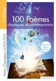 Marion Baudriller - 100 poêmes classiques et contemporains - Anthologie de la poésie française.