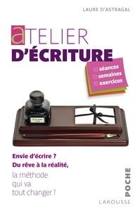 Laure Astragal - Atelier d'écriture.