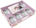 Marion Guillemard - Coffret Desserts in a jar (dans un bocal) - Avec 6 bocaux.