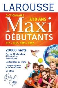 René Lagane et Jean-Pierre Mével - Dictionnaire Maxi débutants - CE1, CE2, CM1, CM2, 7-10 ans.