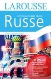 Larousse - Dictionnaire Maxi poche + français-russe et russe-français.
