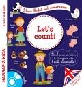 Annie Sussel et Christophe Boncens - Let's count ! - A parti de 4 ans. 1 CD audio