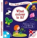 Annie Sussel et Christophe Boncens - What colour is it ? - A partir de 4 ans. 1 CD audio