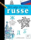 Larousse - Petit cahier d'écriture en Russe.