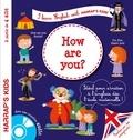 Annie Sussel et Christophe Boncens - How are you ? - A partir de 4 ans. 1 CD audio