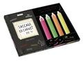 Keri Smith - Saccage ce carnet !!! Le kit ! - Avec 1 carnet et 4 tubes de peinture fluo.