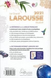 Le Grand Larousse Illustré. Avec 1 carte d'activation du Dictionnaire Internet Larousse  Edition 2021