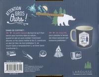 Coffret Attention gros ours !. Avec 1 mug XXL et 1 livre de survie