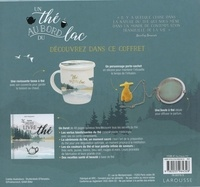 Un thé au bord du lac. Avec 1 porte sachet, 1 tasse, 1 boule à thé