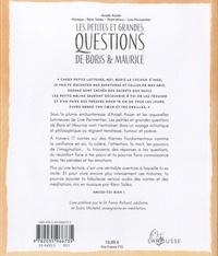 Les petites et grandes questions de Boris et Maurice. Contes philosophiques pour enfants  avec 1 CD audio