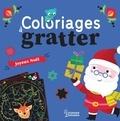 Corinne Lemerle - Coloriages à gratter Joyeux Noël.