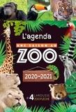 Larousse - L'agenda Une saison au zoo.