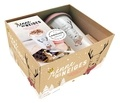 Bérengère Abraham et Séverine Augé - Renne des Neiges - 28 recettes cocooning pour passer l'hiver en douceur - Avec un mug en céramique et son couvercle en silicone.