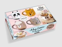 Séverine Augé et Béatrice Vigot-Lagandré - Coffret Mug cakes à croquer - Avec 4 mini mugs.