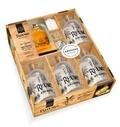 Sandrine Houdré-Grégoire - Le petit bar des rhums arrangés - 20 recettes de rhums arrangés & cocktails des îles. Avec 4 bouteilles en verre, 1 entonnoir, des étiquettes, de la ficelle.