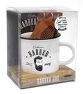 Sarah Daniel Hamizi - Gentlemen's barber box - Avec 1 paire des ciseaux, 1 peigne, 1 pince à épiler, 1 serviette, 1 mug.