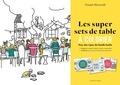 Grand-Mercredi - Les super sets de table à colorier - Pour des repas de famille festifs.