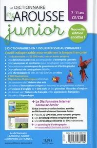 Le dictionnaire Larousse junior CE/CM. Avec 1 carte d'activation du dictionnaire internet