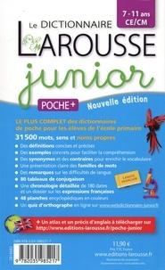 Le dictionnaire Larousse junior poche plus CE/CM