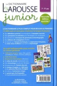Le dictionnaire Larousse junior  édition revue et augmentée