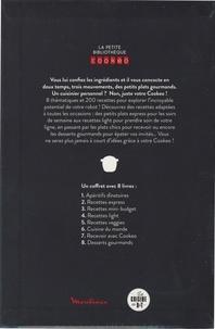 La petite bibliothèque Cookeo. Coffret en 8 volumes : Apéritifs dînatoires ; Recettes express ; Recettes mini-budget ; Recettes light ; Recettes veggies ; Cuisine du monde ; Recevoir avec Cookeo ; Desserts gourmands