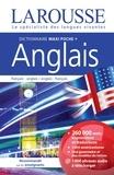 Larousse - Dictionnaire Maxi poche + Anglais - Français-anglais ; anglais-français.