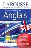 Larousse - Dictionnaire maxipoche plus Larousse - Français-anglais ; Anglais-français. Avec 1 carte d'activation du dictionnaire pour tablette.