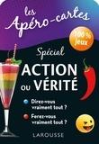 Larousse - Les Apéro-cartes Spécial Action ou Vérité - 100 % jeux.