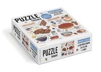 Larousse - Les recettes sucrées de Billie Blake - Contient 2 puzzles de 420 pièces chacun et un livret.