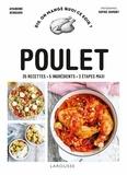 Amandine Bernardi - Poulet - 35 recettes - 5 ingrédients - 3 étapes maxi.