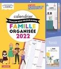 Larousse - Calendrier famille organisée - A chacun son programme. 16 mois, de septembre 2021 à décembre 2022.