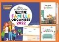 Larousse - Bloc calendrier hebdo famille organisée - Septembre 2021 à Août 2022.