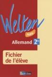 Elisabeth Thomas et Brigitte Benhamou - Allemand 2e Welten - Fichier de l'élève.