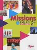 Vincent Burgatt - Anglais 2e Missions - A2/B1. 1 CD audio