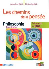 Jacqueline Russ et Clotilde Leguil - Philosophie Tles Les chemins de la pensée.