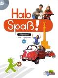 Elisabeth Lansel et Laetitia Bally - Allemand 1re année Hab Spass !. 1 CD audio