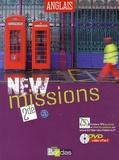 Séraphine Lansonneur - Anglais 2e A2-B1 New Missions. 1 DVD