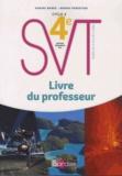 Sabine Bobée et Bruno Forestier - SVT 4e Cycle 4 - Livre du professeur.