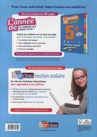 Français 5e Cycle 4 La grammaire par les exercices. Cahier d'exercices  Edition 2018