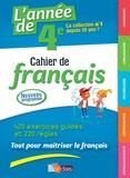 Joëlle Paul - L'année de 4e - Cahier de français.