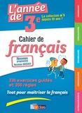 Joëlle Paul - L'année de 3e - Cahier de français.